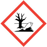 GHS environmental release pictogram